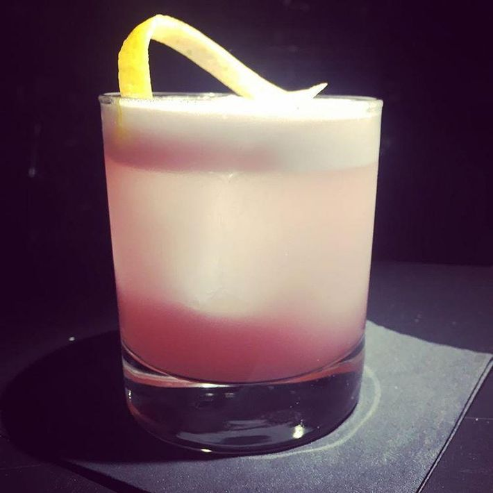 red gin sour 2