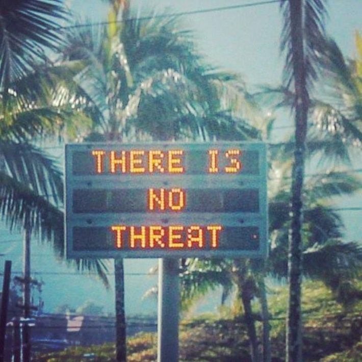 no threat