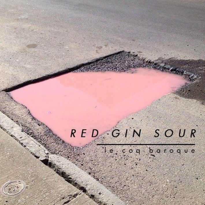ex red gin sour